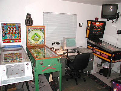 Old Gameroom Picture, west wall